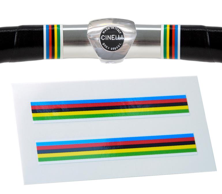 Velobitz Vintage World Champion Stripes Handlebar Finishing Tape